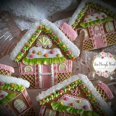 Cookie collection 2017 by Teri Pringle Wood; candy house