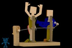 Singing Out Loud Wooden Toy - SketchUp,Parasolid,SOLIDWORKS,OBJ,Autodesk 3ds Max,STL,STEP / IGES - 3D CAD model - GrabCAD