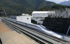 Японский поезд обновил мировой рекорд скорости