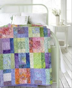 Splashes of Color Quilt Pattern - Quilting Digest