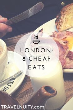 Want to know the best recommendations for cheap eats in London from 8 travel… London Eye, Eurotrip, London Bucket List, London Travel Guide, Uk And Ie Destinations, Holiday Destinations, Sightseeing London, Beste Hotels, Voyage Europe