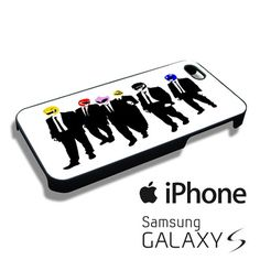Power rangers reservoir dogs iPhone 4/4s,iPhone 5/5s/5c,Samsung Galaxy S3/S4/S5 Case