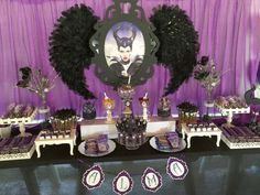 MALEFICENT MOVIE Birthday Party Ideas | Photo 1 of 24