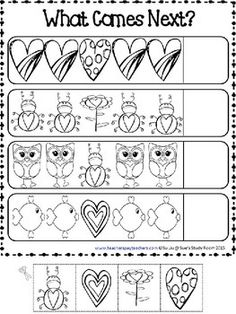 Valentine Math Worksheets Free Worksheets for all | Download and ...