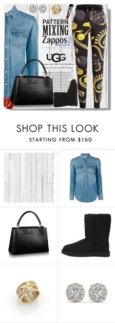 """""""Lady day"""" by carleen1978 ❤ liked on Polyvore featuring NLXL, Yves Saint Laurent, UGG Australia, Cartier and Moschino"""