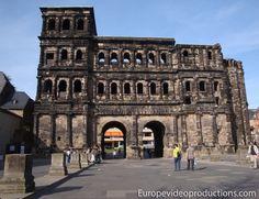 Porta Nigra en Tréveris en Mosela en Alemania