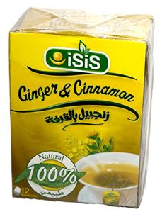 Isis Organic Ginger and Cinnamon Tea >>> You can find out more details at the link of the image. Note: It's an affiliate link to Amazon.