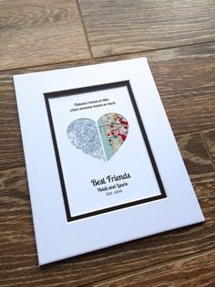 The Perfect Thoughtful Gift Or Personal Memento This Personalized Map Makes With