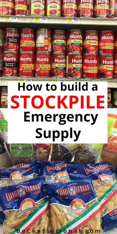 How To Stock a Real Food Emergency Kit. How to Put Together an Emergency Preparedness Kit. Here's a guide on assembling an emergency food kit to help you prepare Emergency Preparedness Items, Emergency Food Storage, Emergency Food Supply, Emergency Preparation, Emergency Supplies, Disaster Preparedness, Survival Food, Survival Prepping, Survival Skills