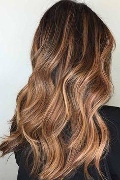Warm Tones on Dark Brown Hair picture1