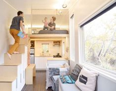 50 amazing loft stair for tiny house ideas