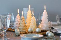 Weihnachtskerzen Tannenbaum