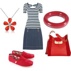 """""""More red, white and blue"""" by shortnsweet21 on Polyvore"""