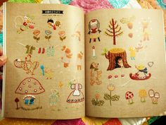 All sizes | Japanese Embroidery Book | Flickr - Photo Sharing!