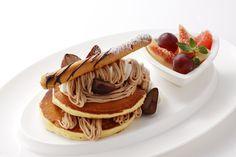 Mont Blanc on pancakes!