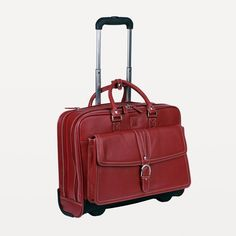 "Clark & Mayfield - Stafford Rolling laptop bag handbag 17.3"" #laptopbags #clarkandmayfield"