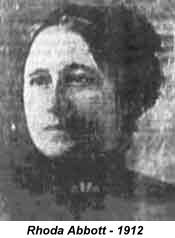 """Rhoda """"Rosa"""" Abbott - Titanic's Woman of Sorrows....As the Titanic took her final plunge Mrs Abbott and her two sons jumped from the deck. She surfaced, the boys did not. The two boys were lost. Somehow she scrambled to Collapsible Lifeboat A where she begged the other occupants to pull her in. In an interview given to the Providence Daily Journal, Rhoda described her experience on Collapsible A."""