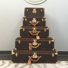 """""""Stacks of #LouisVuitton from @fashionphile"""""""