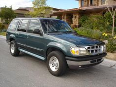 A few years later, I traded the Sable for a Ford Explorer.  I love SUV's!!