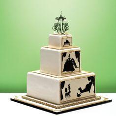 Silhouette Liaison - Cake Opera Co
