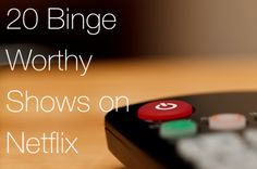 Need a new tv show to binge on? Check out my 20 shows to binge watch on Netflix!!