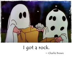 It isn't Halloween without Charlie Brown.