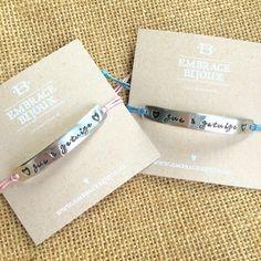 Deze mooie armbandjes mocht ik laatst maken als cadeautjes voor de zussen én getuigen van de bruid. Een leuk cadeau wanneer je gaat trouwen!