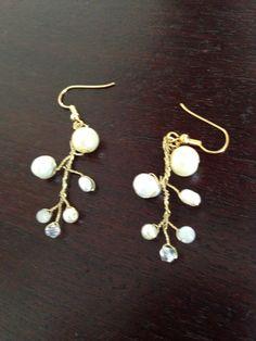 Earrings for bride