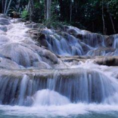 Dunn's River Falls - Jamaica     Best Water fall climb ever.