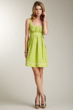 Jessica Simpson Sweetheart Dress with Ruffle Bodice #dress #summer