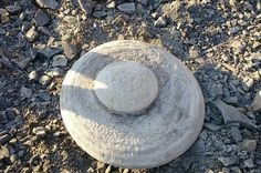 The truth is out there - or is it? The object is shaped like a saucer