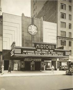 Vintage Movie Theater, Vintage Movies, Vintage Stores, Bauhaus, Amsterdam, Vintage New York, Paris, Art Deco Fashion, Manhattan