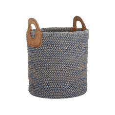 Add rustic design to your interior with this stunning Indra Coil basket from Nkuku. Perfect for storing a variety of odds and ends from shoes in the hallway, to spare blankets in the bedroom and logs