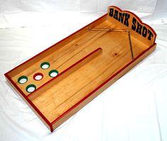 "Bank Shot Game, 50"" L x 26"" W x 5"" H. $249.00 at State Fair Seasons, 5/27/15"