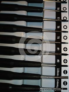 Photo about Screwdriver set with black handle, photographed in the holder, indoors in Romania. Image of numbers, indoors, seven - 126577768 Screwdriver Set, Romania, Wine Rack, Close Up, Handle, Indoor, Stock Photos, Nature, Image