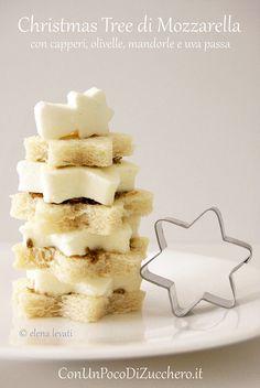 Alberello di mozzarella #ricetta di @elenafoodblog