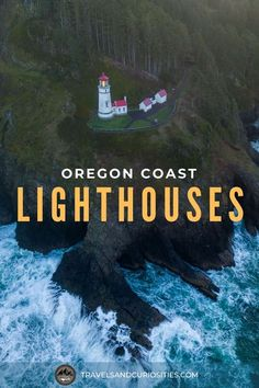 Explore the nine remaining Oregon coast lighthouses and discover the curious and sometimes haunted stories of these famous beacons of light. * Travels and Curiosities is a travel and photography website featuring unique and curious travel inspirations, travel guides, gear recommendations, photography tips, camping resources, and travel savings strategies. * oregon lighthouses | oregon lighthouse pictures | tillamook | oregon lighthouse map | oregon lighthouse road trip