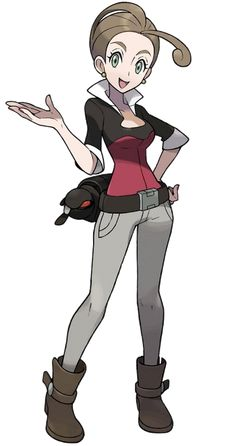 A thread for appreciating Pokemon X and Y NPC designs (dat female Pokemon Breeder) - NeoGAF