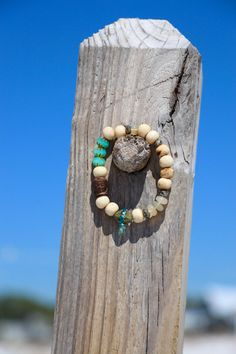Yoga Buddha Stretch Bracelet Ethiopian Opals by HappyGoLuckyJewels
