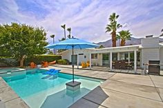 Krisel-designed Updated Mid-century Ranch in Sunrise Park, Palm Springs - Petites Annonces French District