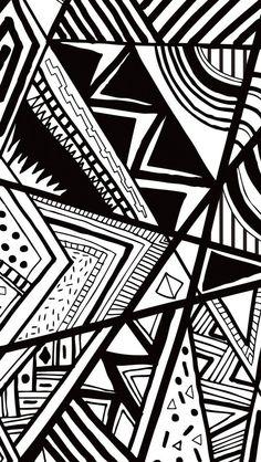 Retro Black and White IPhone Wallpaper