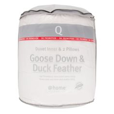 Enjoy long, peaceful sleeps in any season. This luxurious filling of goose down keeps your duvet warm enough for winter but light enough for summer. Goose Feathers, Duck Down, At Home Store, Duvet, Pillows, Mornings, Winter, House, Ideas