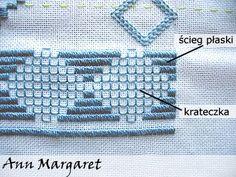 Hardanger stitches