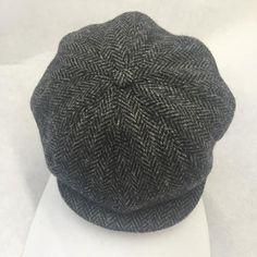 Genuine Harris Tweed Baker Boy Hat Newsboy Gatsby Free UK Delivery Made in UK