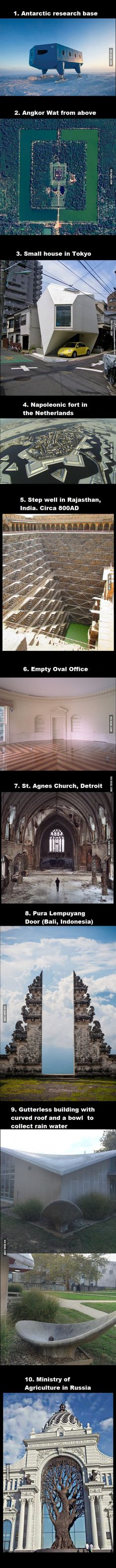 A collection of interesting pictures I found over the years, Part Architecture (look at my posts for the other parts). THIS IS AMAZING. The Places Youll Go, Places To See, Beautiful World, Beautiful Places, Amazing Places, Cool Pictures, Cool Photos, Wow Photo, Amazing Architecture