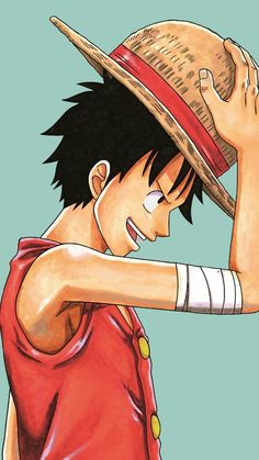 Luffy-chin... Monkey D Luffy