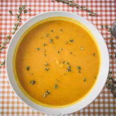 Krémová dýňová polévka | Akademie kvality Cantaloupe, Soups, Fruit, Food, Essen, Soup, Meals, Yemek, Eten