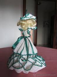 Resultado de imagen para patrones de vestidos a ganchillo para muñecas