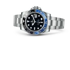 Discover the GMT-Master II watch in 18 ct white gold on the Official Rolex Website. Model: 116719BLRO