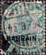 Bahrain 1933 George V Head Fine Used SG Scott 7 Other Arabian and British Commonwealth Stamps HERE!
